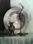 Student charcoal drawing by Carol Palmieri.  Rosemarie Morelli Art Studio & School.