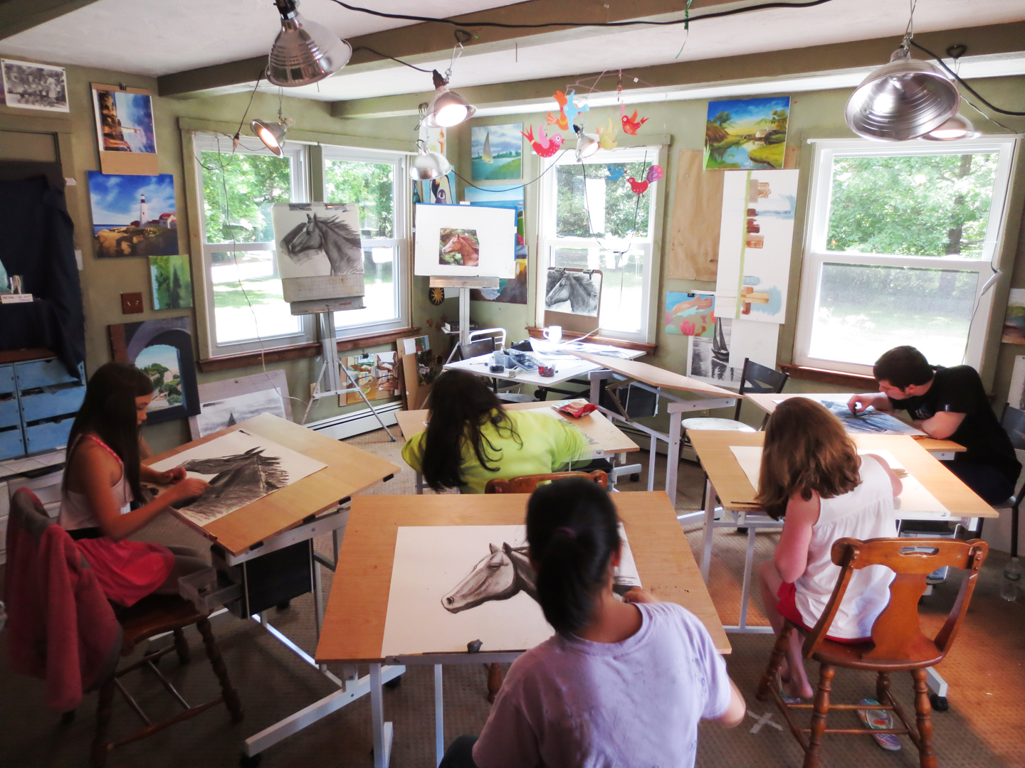 Art Studio Teen Classes 50