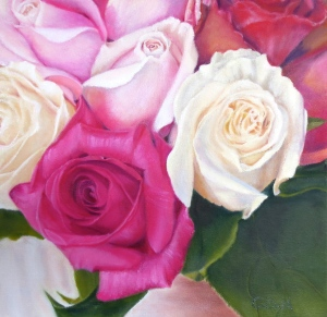 Oil painting by Annette Baldi