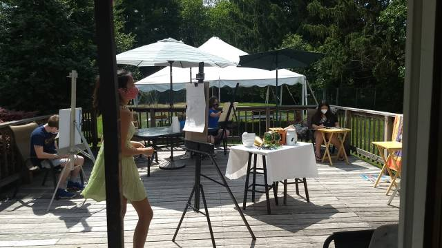 Summer Outdoor Studio